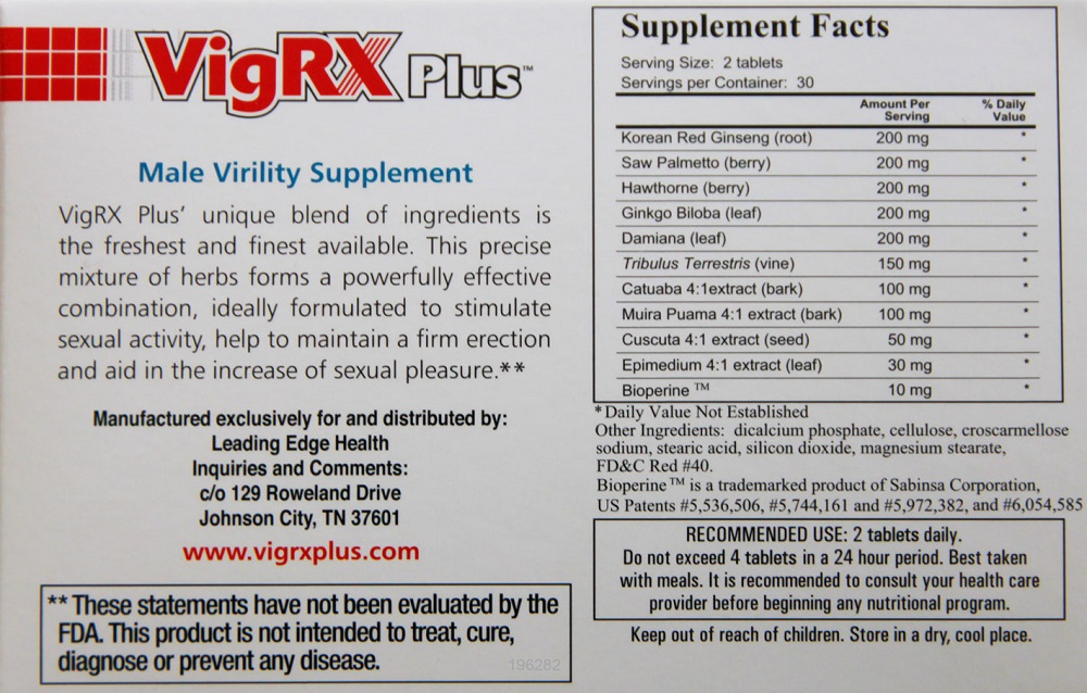 VigRX Plus Order Now