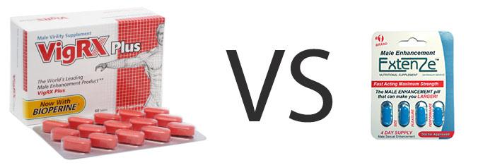 Extenze vs viagra